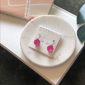 Sorrelli Ultra Pink Drop Earrings